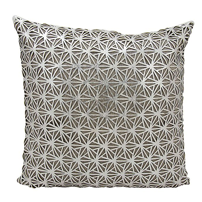 Alternate image 1 for Mina Victory Dragon Claw Square Throw Pillow