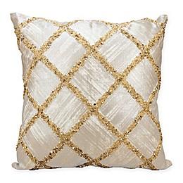 Kathy Ireland by Nourison Diamond Square Throw Pillow