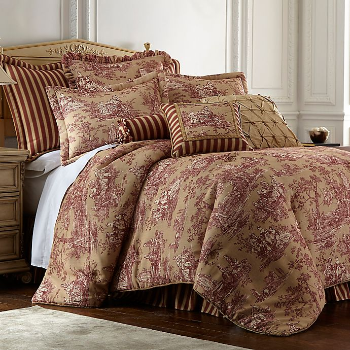 Sherry Kline Country Sunset Comforter, Sherry Kline Home Collection Country Manor Bedding