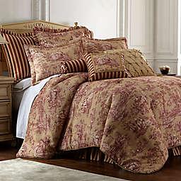 Sherry Kline Country Sunset Comforter Set in Burgundy