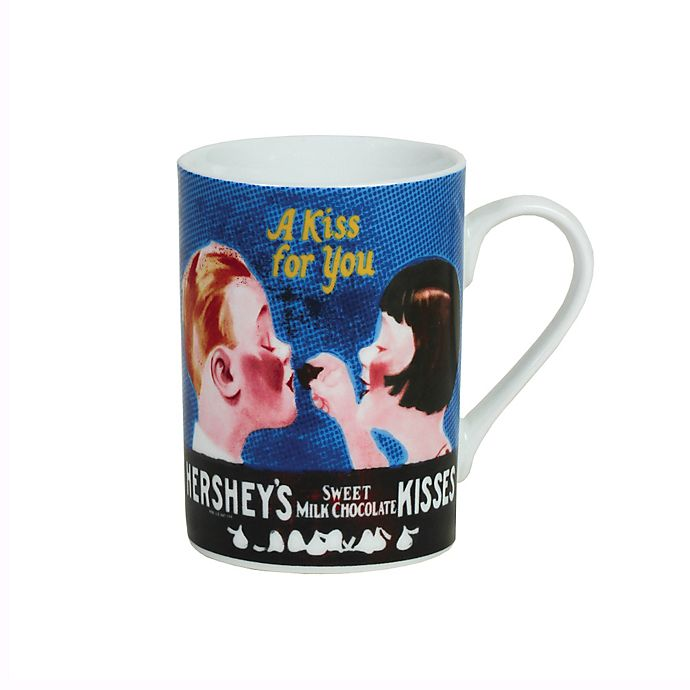 Alternate image 1 for Hershey's by Fitz and Floyd® Chocolate Lovers Kissing Kids Mug