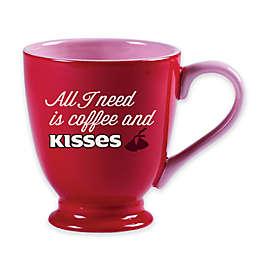 Hershey's by Fitz and Floyd® Sweet Notes Coffee and Kisses Mug in Red