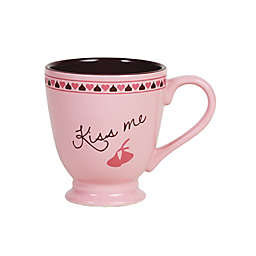 "Hershey's by Fitz and Floyd® Sweet Notes ""Kiss Me"" Mug in Pink"