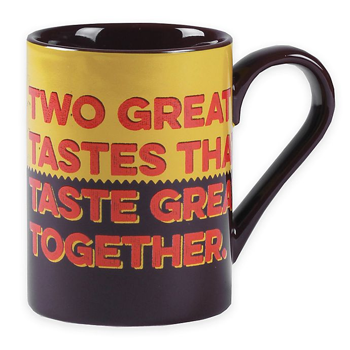 Alternate image 1 for Reese's® by Fitz and Floyd® Two Great Taste's Mug