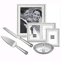 Reed & Barton Luxe Collection Facets Fine Giftware in White/Silver