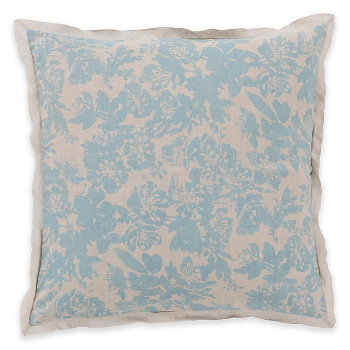 Alternate image 1 for Surya Clara European Pillow Sham in Blue