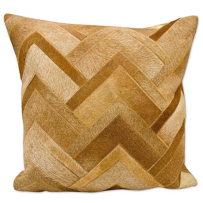 Alternate image 1 for Mina Victory Arrowhead Chevron Square Pillow