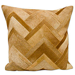 Mina Victory Arrowhead Chevron Square Pillow