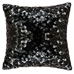 Michael Amini® Circle Sequin Square Throw Pillow