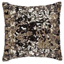 Michael Amini® Circle Sequin Square Throw Pillow