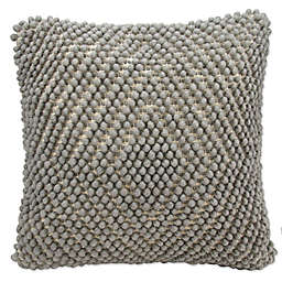Mina Victory Lifestyles Loop Diamond Square Throw Pillows