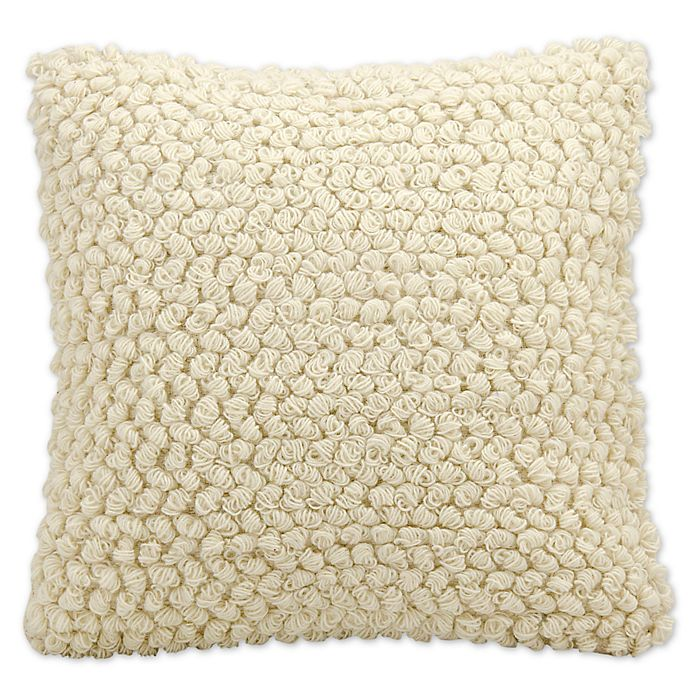 Alternate image 1 for Mina Victory Lifestyles Thin Loop Square Throw Pillow