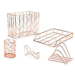 Copper Wire Desk Accessory Collection