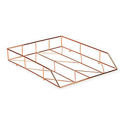 Copper Wire Letter Tray
