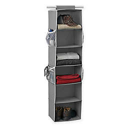 Studio 3B™ 6-Shelf Hanging Sweater Organizer in Grey