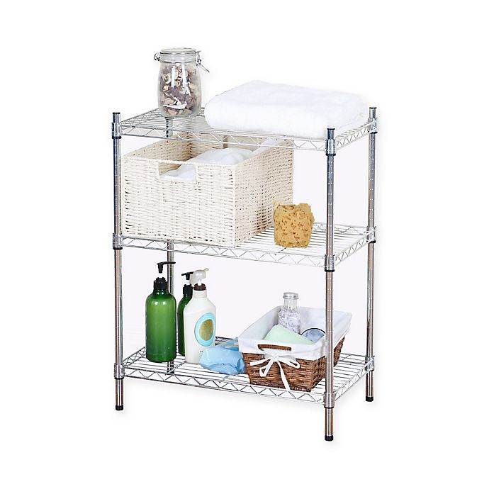 Alternate image 1 for 3-Tier Wire Shelving Unit