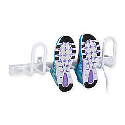 Honey-Can-Do® Wall-Mount 4-Shoe Warming Rack in White