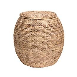 Household Essentials® Large Water Hyacinth Wicker Storage Basket