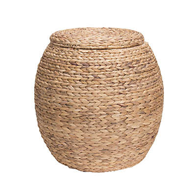 Household Essentials® Large Water Hyacinth Wicker Storage Basket