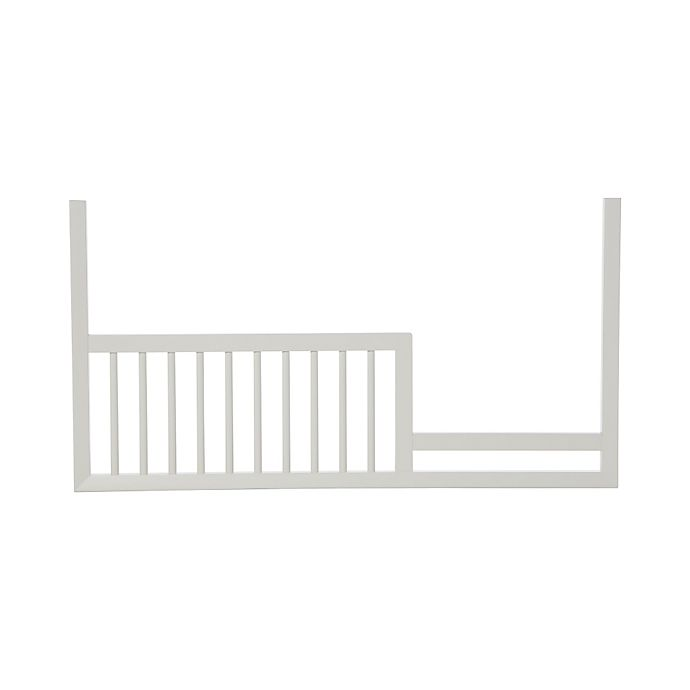 Alternate image 1 for DwellStudio Mid-Century Toddler Guard Rail in French White