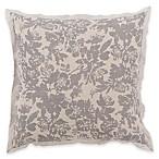 Surya Clara European Pillow Sham in Grey