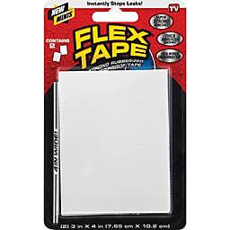 Flex Seal™ Flex Tape 4-Inch x 3-Inch White Mini Tape