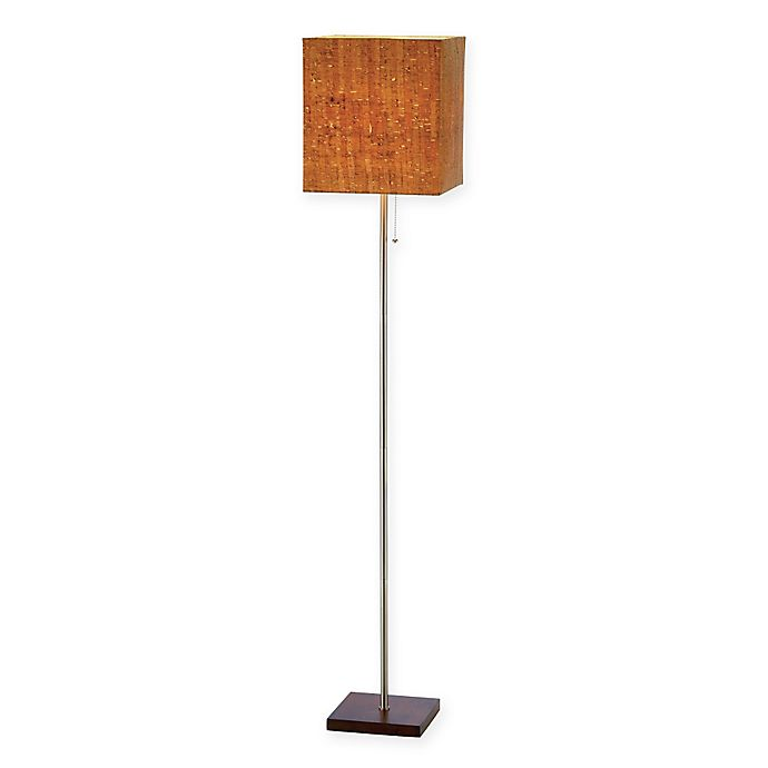 Alternate image 1 for Adesso Sedona Floor Lamp in Walnut