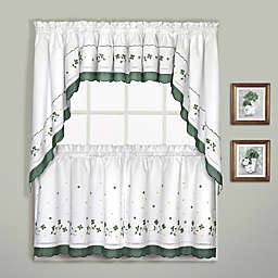 Gingham Window Curtain Tier Pair