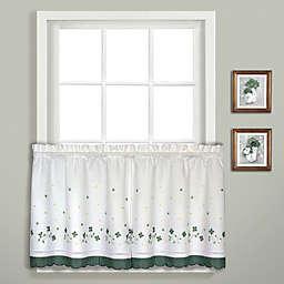 Gingham Window Curtain Tier Pair