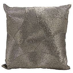 Mina Victory LUMINESCENCE Fan Design Square Throw Pillow