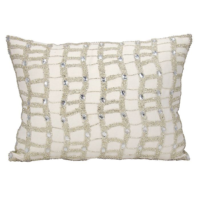Alternate image 1 for Michael Amini® Ladders Accent Throw Pillow