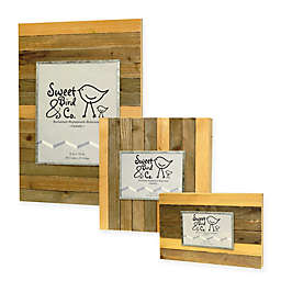 Sweet Bird & Co. Reclaimed Wooden Photo Frame in Vintage Natural