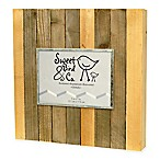 Sweet Bird & Co. 5-Inch x 7-Inch Reclaimed Wooden Photo Frame in Vintage Natural