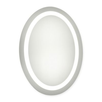Oval Led Lighted Mirror Bed Bath Amp Beyond