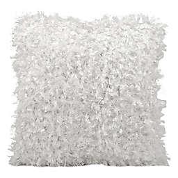 Michael Amini® Shimmer Shag Throw Pillow