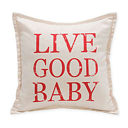 "Live Good™ ""Live Good Baby"" Organic Supima® Cotton Baby Pillow"