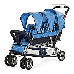 Child Craft™ 3-Passenger Sport Stroller in Regatta Blue