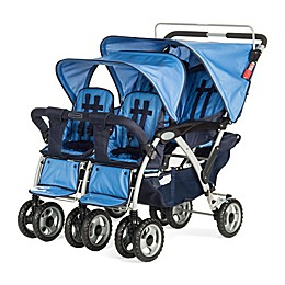 Child Craft 4-Passenger Stroller in Blue