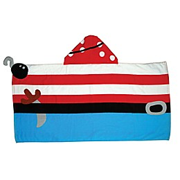 Stephen Joseph® Pirate Hooded Towel in Red