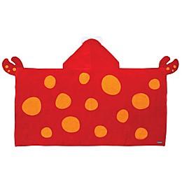 Stephen Joseph® Crab Hooded Towel in Red