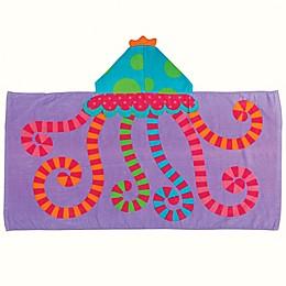 Stephen Joseph® Jellyfish Hooded Towel in Purple