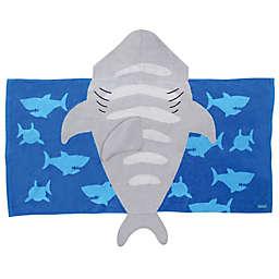 Stephen Joseph® Shark Hooded Towel in Grey