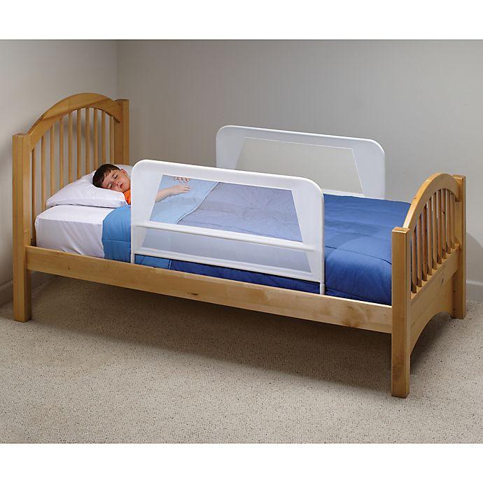 Alternate image 1 for KidCo® Mesh Bed Rails in White (Set of 2)