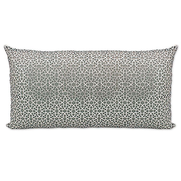Alternate image 1 for Mina Victory Couture Arabic Rectangular Throw Pillow