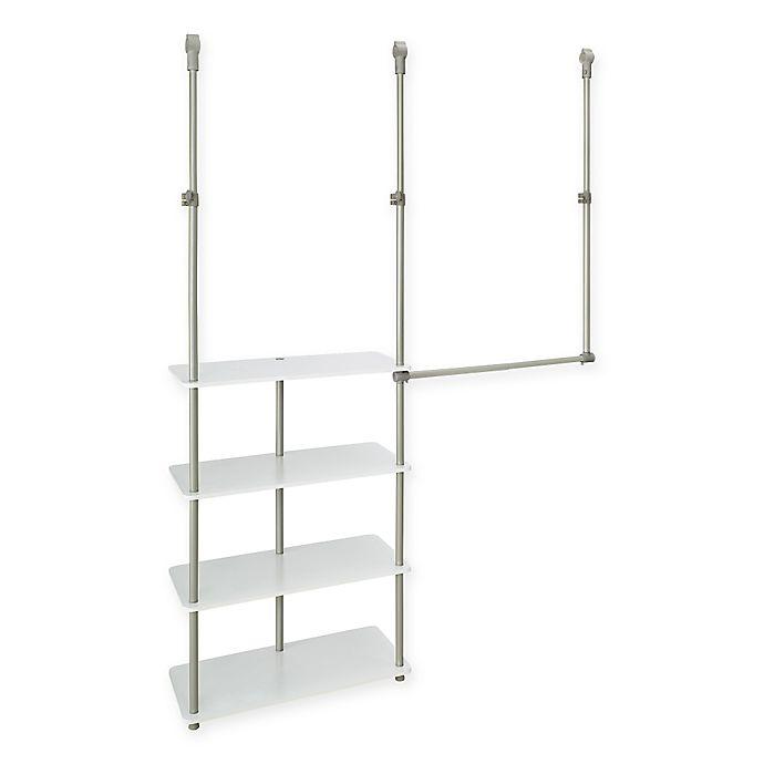 Alternate image 1 for ClosetMaid® 4-Shelf Closet Maximizer