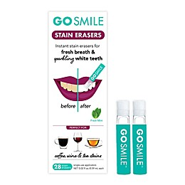 Go Smile 28-Pack Teeth Stain Erasers