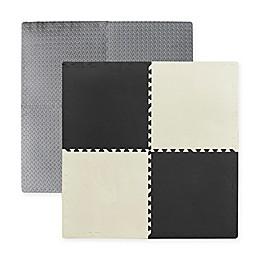 Multipurpose 24-Inch x 24-Inch Heavy Duty 4-Piece Foam Floor Mat
