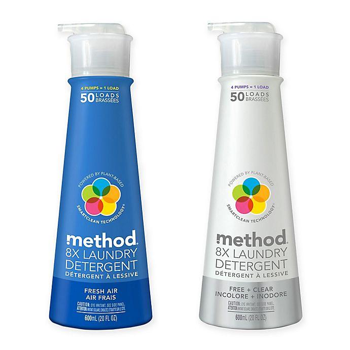Alternate image 1 for Method® 20 oz. 8X Laundry Detergent