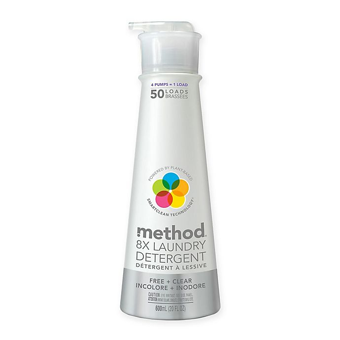 Alternate image 1 for Method® 20 oz. 8X Free and Clear Laundry Detergent