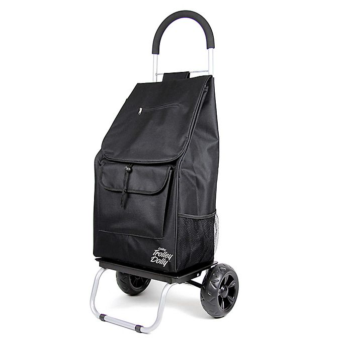 Alternate image 1 for Folding Trolley Dolly Cart in Black